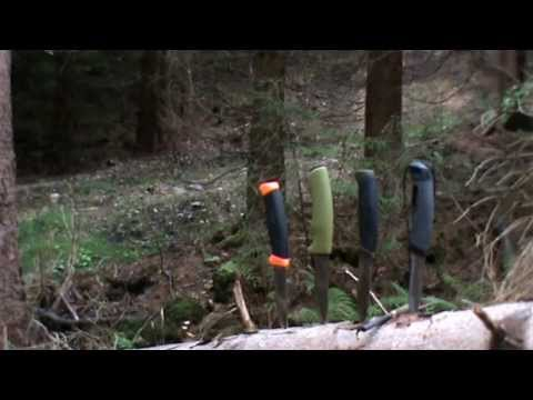 MESSER MORA MESSER IM TEST  BUSHCRAFT/COMPANION/LIGHT MY FIRE