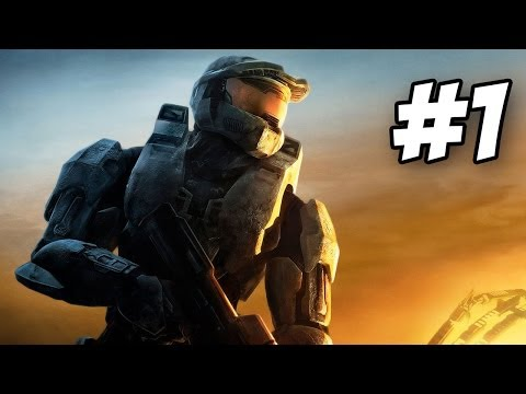 Halo 3 Walkthrough | Arrival / Sierra 117 | Part 1 (Xbox 360)