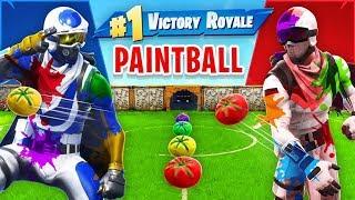 Tomato Paintball *NEW* Custom Gamemode In Fortnite!