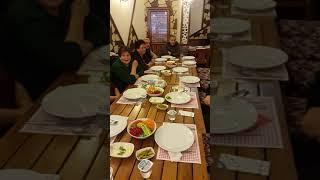 Iğdır köyü kaz yemekleri