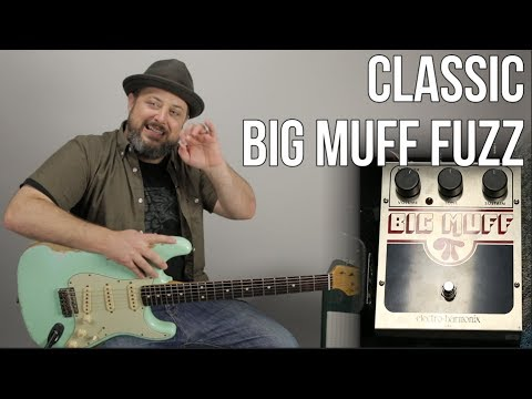 90's Grunge Distortion with Big Muff PI Classic Fuzz Pedal - Nirvana, Smashing Pumpkins, Soundgarden