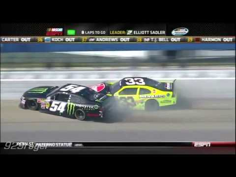 2012 NASCAR Crashes Compilation Volume 1