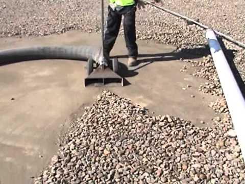 Sunbelt Vacuum Roof Vacuuming Ballast Removal Youtube