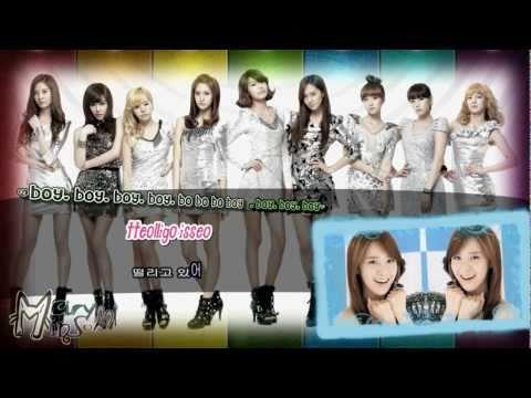 [FullHD] SNSD- VISUAL DREAMS (Karaoke Lyrics) Rom.+ 한글  Girls' Generation