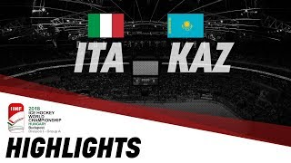 Италия : Казахстан