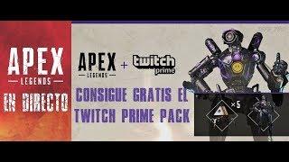 APEX LEGENDS PC - CONSIGUE GRATIS EL TWITCH PRIME EXCLUSIVO - Gameplay Español [RTX 2080Ti Ultra]