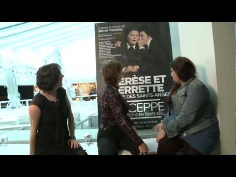 Thrse et Pierrette  l&#039;cole des Saints-Anges | DUCEPPE 2012-2013