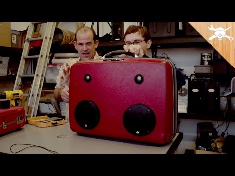 Build a Custom Suitcase Boom Box!