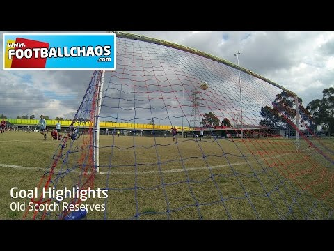 Goal Highlight - Old Scotch Reserves