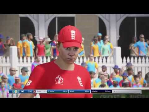 India vs England Final Women World Cup 2017-Live Cricket Score -Ashes Cricket#PS4#Gameplay
