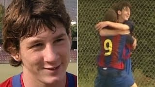 What Messi's coach promised him as a child for him to score goals - Oh My Goal