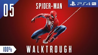 Spider - Man   Walktrough Part 5    100%   PS4 PRO Reg 3   [ ENG ] No Commentary