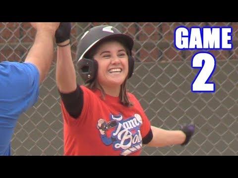 CIARA TAKES OVER THE GAME! | On-Season Baseball Series | Game 2