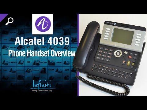 Istruzioni alcatel lucent 4039