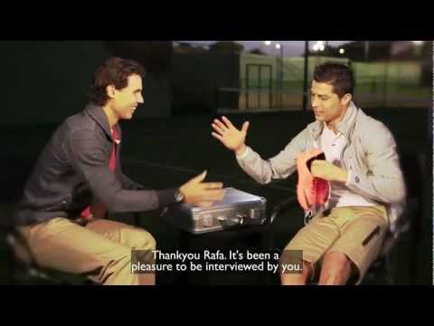 Rafael Nadal interview with Cristiano Ronaldo (english subtitles)