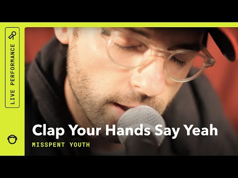 Stripped Down In A Yurt: Clap Your Hands Say Yeah