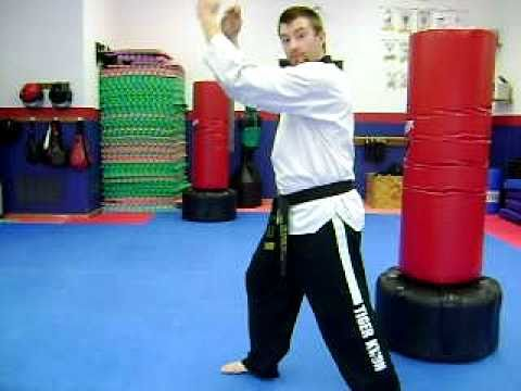 TKD Kickboxing Techniques: Knee Strike Image 1
