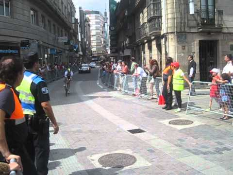 Julian Dean contrarreloj Cambados-Pontevedra Vuelta 2012