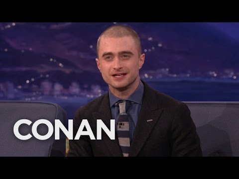 """Daniel Radcliffe Can't Wait For """"The Force Awakens""""  - CONAN on TBS"""