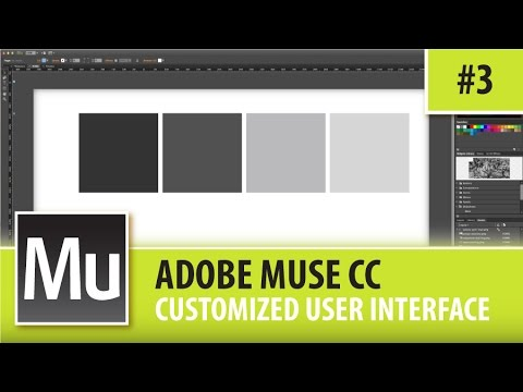 Adobe Muse Interface Adobe Muse cc Professional