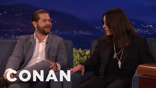 Jack Osbourne Is Perpetually Traumatized By Ozzy & Sharon  - CONAN on TBS