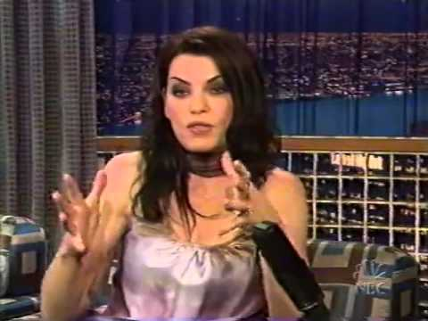 Conan O'Brien 'Julianna Margulies 10/30/2002
