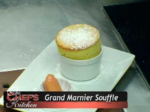 ... Beach Maine makes a Grand Marnier Souffle with a Blood Orange Sorbet