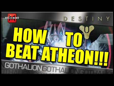 Guide: How to Beat Atheon! Raid Boss of The Vault of Glass!