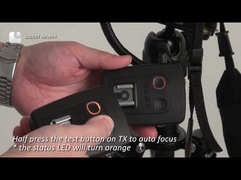 Cactus V5 - Working as Wireless Shutter Release