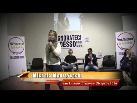 Michela Montevecchi a San Lazzaro di Savena il 27 aprile 2014