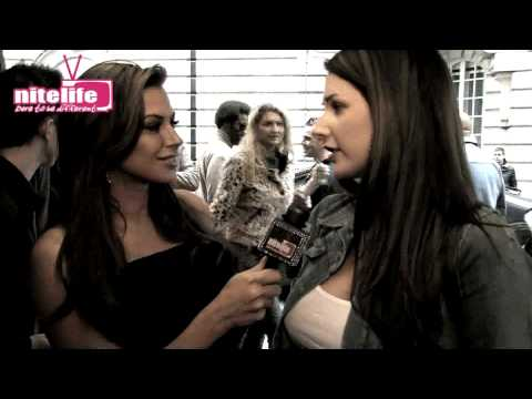 NITELIFETV Presented by Louise Glover Interviews LUCY PINDER.mp4 Video