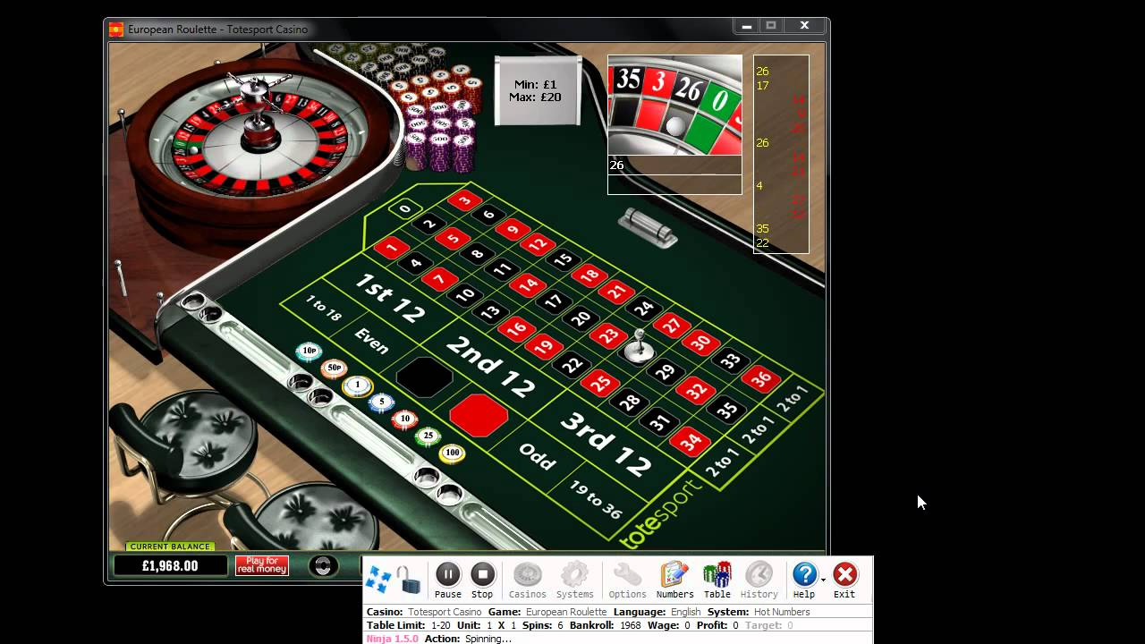 Roulette system 100 effective