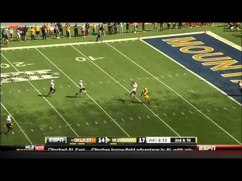09/28/2013 Oklahoma State vs West Virginia Football Highlights