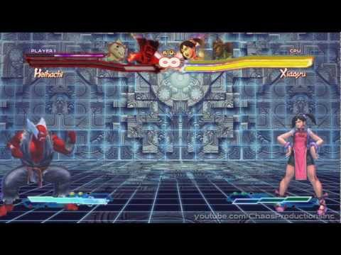 Street Fighter X Tekken - All Pandora Transformations & Taunts