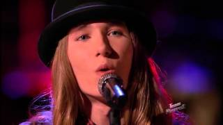 Download Lagu The Voice 2015 Sawyer Fredericks Live Playoffs Trouble Gratis STAFABAND