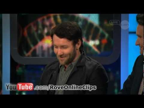 Joel Edgerton interview on The Project (2012) - Wish You Were Here