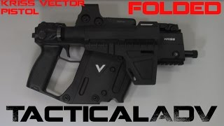 Kriss Vector Gen2 45ACP Pistol FOLDER!
