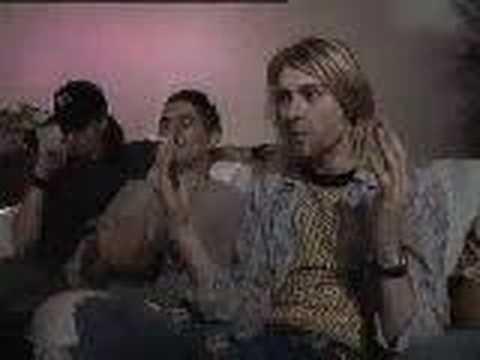 Nirvana - Kurt Cobain - Not a rockstar