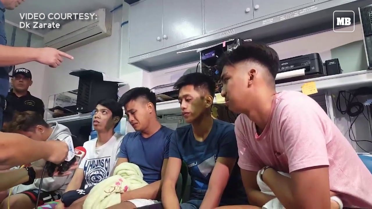 6 teenagers from a viral video voluntarily surrender to NCRPO Chief Eleazar