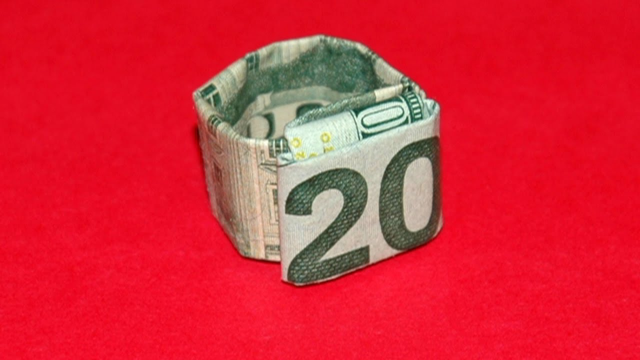 How To Make A Twenty Dollar Bill Ring
