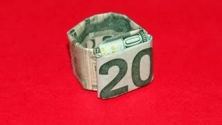 Origami Dollar Ring - How To Make An Origami Dollar Ring