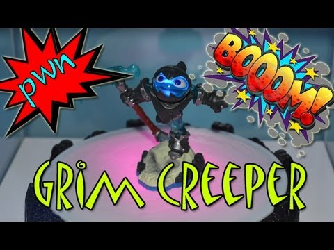 I Get To Play Early!!!: Skylanders Swap Force - Grim Creeper @ E3 2013 - E3M13