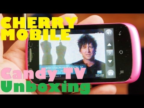 Cherry Mobile Candy TV Unboxing - 1Ghz Single-Core Android With Television Feature For PHP 3.299
