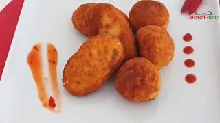 Chicken Rice Ball | চিকেন রাইস বল বানানোর সহজ রেসিপি