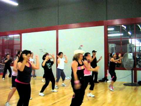 Waka Waka(dance Aerobic Fitness)-in Response To Shakira's 1 Goal For Africa video