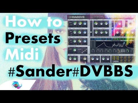 How to: Sander van Doorn, Martin Garrix, DVBBS - Gold Skies [Presets & Midi]