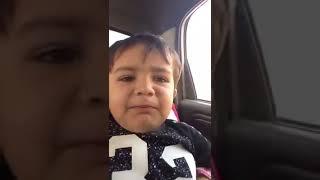 Lokk how little baby sing  punjabi song.(  Badnam 2 ...funny)