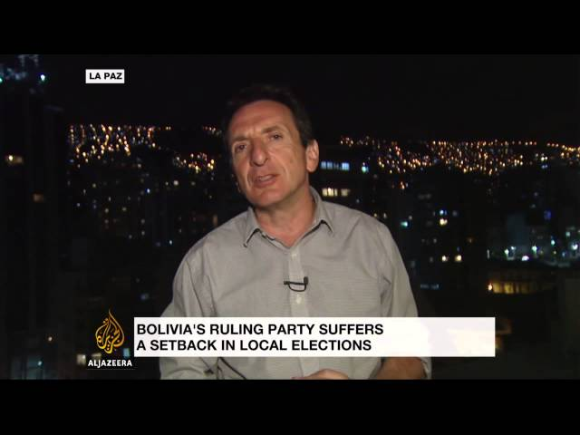 Regional elections deal blow to ruling Bolivian government