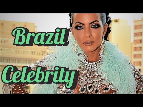 $3,000 TRANSPARENT DRESS !! 4,000 CRYSTALS OUTFIT USED BY RIO DIVA CARLA