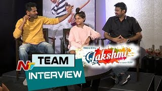 Lakshmi Movie Team Interview | Prabhu Deva | Ditya Bhande | AL Vijay | NTV